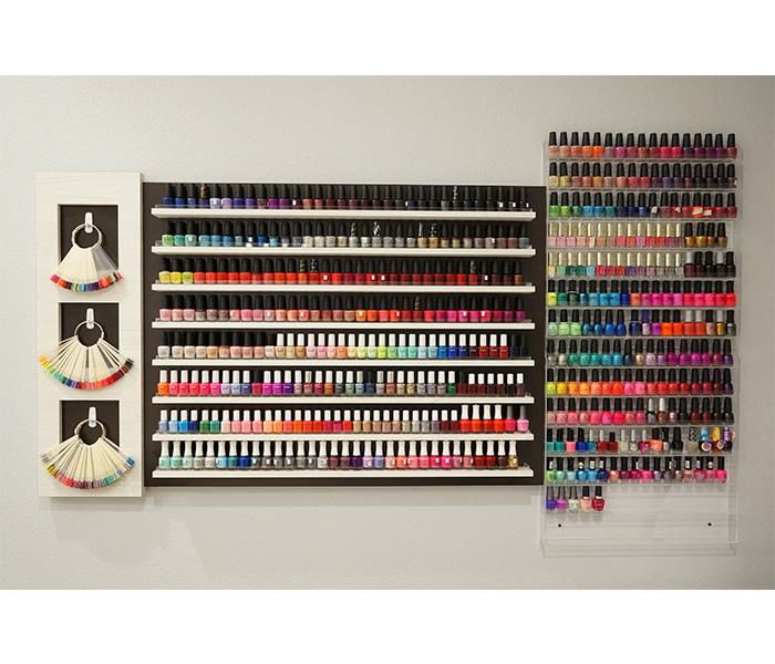 Regular nail polish selection